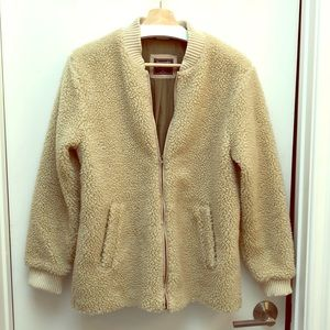 Abercrombie & Fitch Sherpa Bomber Jacket
